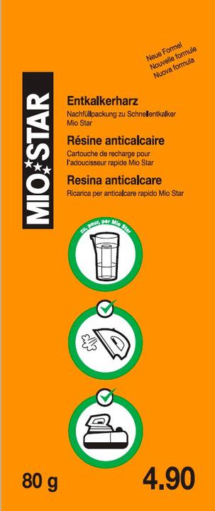 Résine anticalcaire Résine anticalcaire Mio Star 717725500000 Photo no. 1