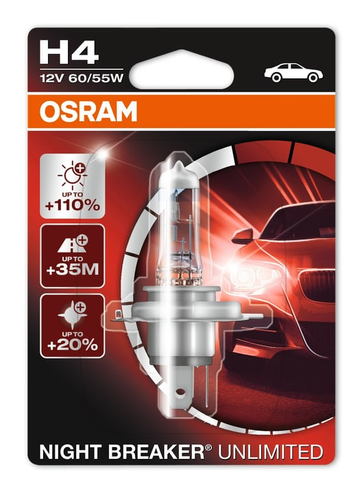 Night Breaker Unlimited H4 Ampoule Osram 620474900000 Photo no. 1