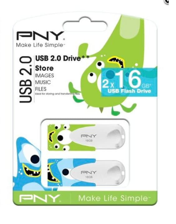N1 16GB USB Sticks Duo PNY Technologies 798200500000 Photo no. 1