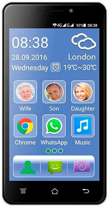 Senior Smartphone Dual-Sim Switel 785300126777 N. figura 1