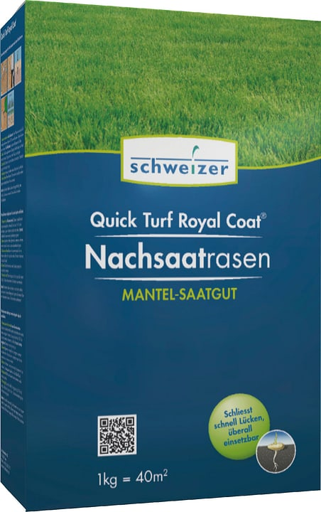 Quick - Turf Royal Coat Nachsaatrasen, 1 kg Eric Schweizer 659204500000 Bild Nr. 1