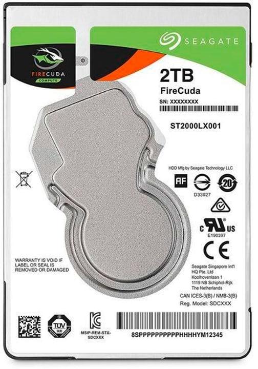 """SSHD FireCuda 2.5"""" 2 TB Disque Dur Interne HDD Seagate 785300126745 Photo no. 1"""