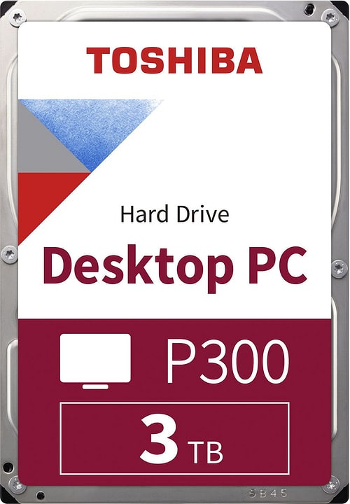 "P300 High Performance 3To 3.5"" SATA (BULK) Disque Dur Interne HDD Toshiba 785300137550 Photo no. 1"