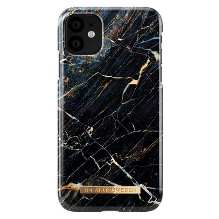 Hard-Cover Port Laurent Marble black Coque iDeal of Sweden 785300147877 Photo no. 1