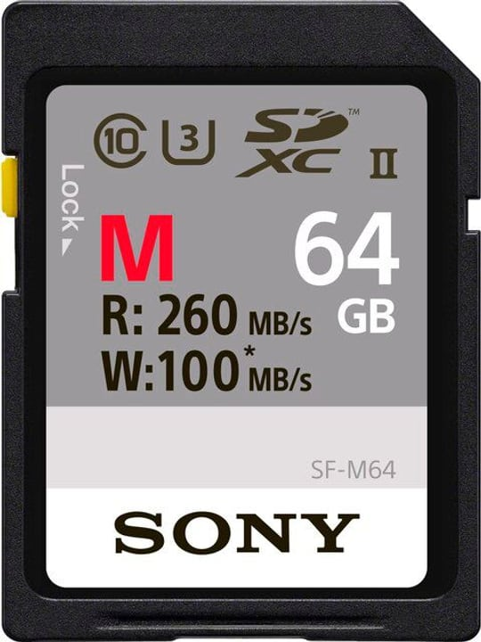 PRO SDXC UHS-II 64GB / 260MB/s Sony 785300145190 Photo no. 1