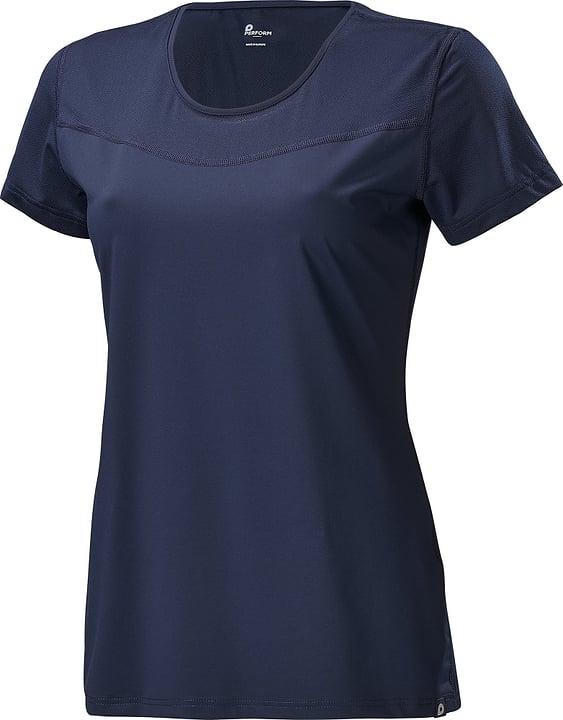 Shirt pour femme Perform 464921503643 Couleur bleu marine Taille 36 Photo no. 1