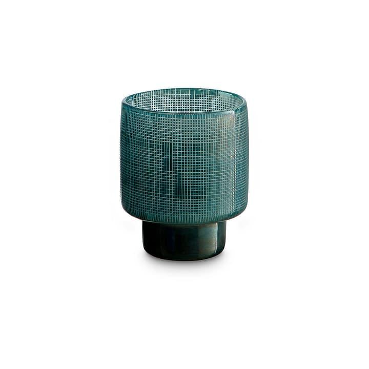 FLORA Portacandele scaldavivande 396085900000 Dimensioni L: 10.0 cm x P: 10.0 cm x A: 12.0 cm Colore Blu chiaro N. figura 1