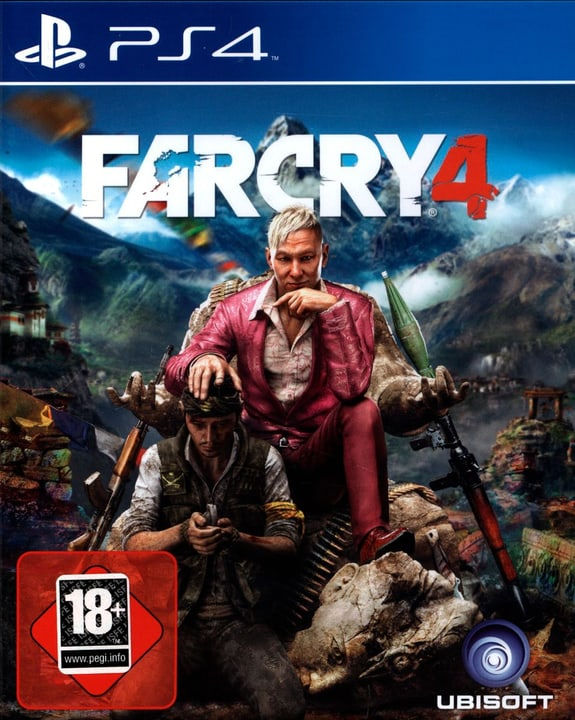 PS4 - Far Cry 4 Physique (Box) 785300121825 Photo no. 1