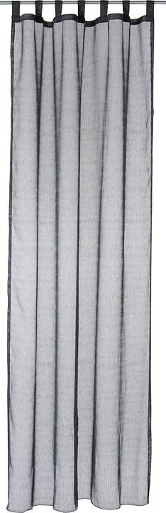 LUIS Rideau prêt à poser jour 430273821820 Couleur Noir Dimensions L: 150.0 cm x H: 260.0 cm Photo no. 1