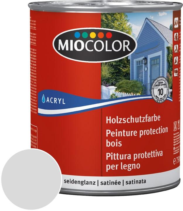 Pittura protettiva per legno Miocolor 661113800000 Colore Grigio chiaro Contenuto 750.0 ml N. figura 1