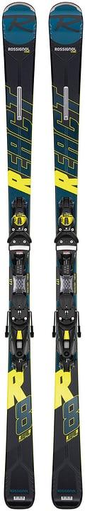 React R8 HP inkl. NX 12 GW Skis On Piste avec fixations Rossignol 464306017720 Couleur noir Longueur 177 Photo no. 1