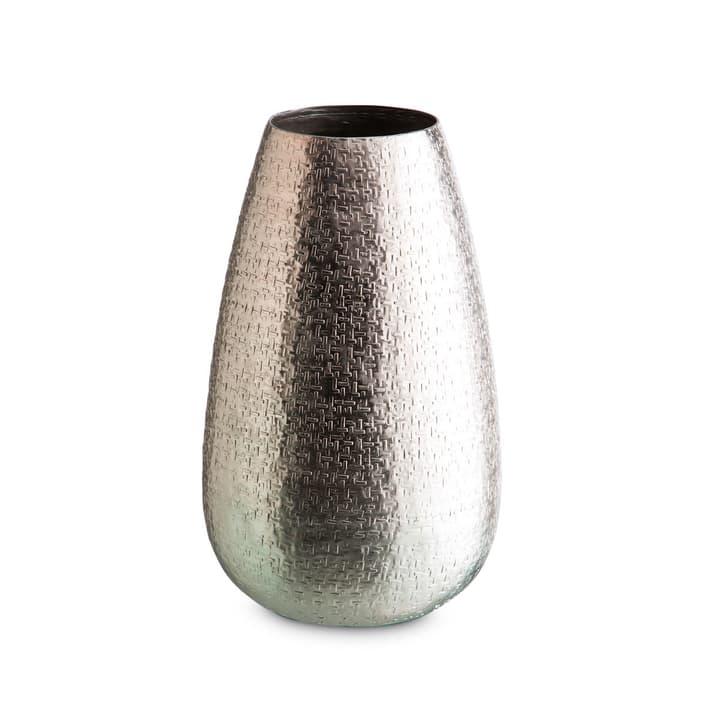 ALUNO Vase 396065400000 Grösse B: 11.0 cm x T: 11.0 cm x H: 31.0 cm Farbe Silberfarben Bild Nr. 1