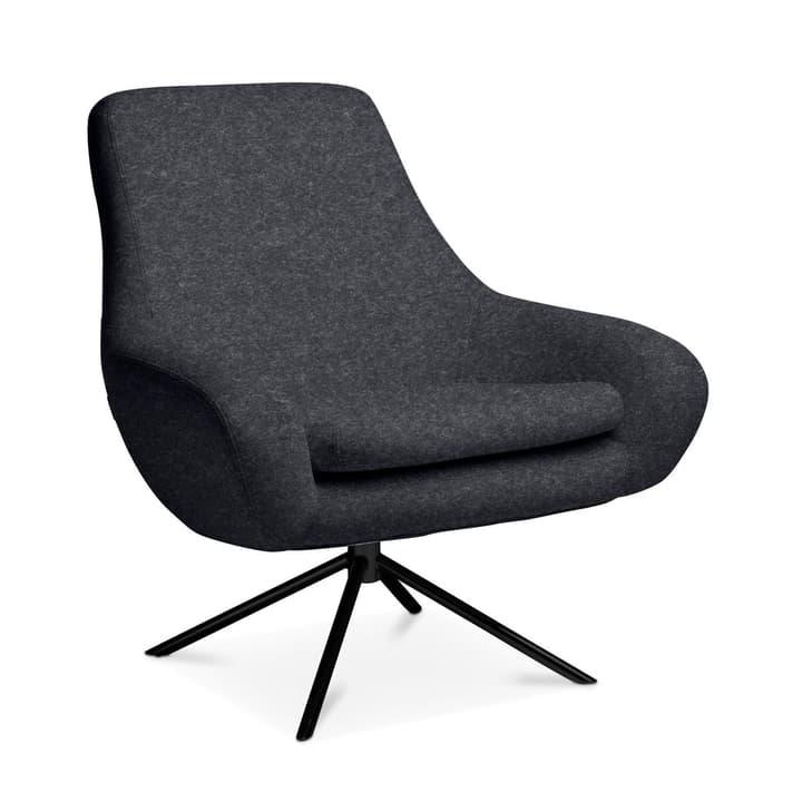 SILAS Sessel 360063919502 Grösse B: 84.0 cm x T: 71.0 cm x H: 90.0 cm Farbe Anthrazit Bild Nr. 1