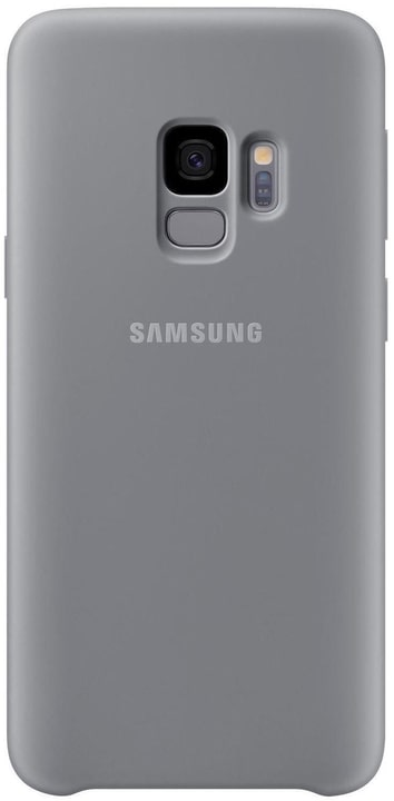 Silicone Cover gris Coque Samsung 785300133649 Photo no. 1