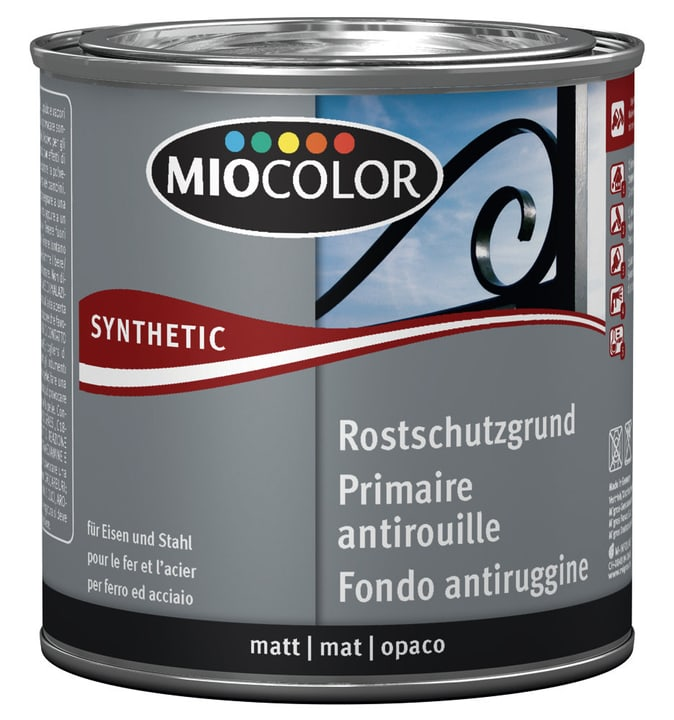 Synthetic Fondo antiruggine Grigio 375 ml Miocolor 661443200000 Colore Grigio Contenuto 375.0 ml N. figura 1