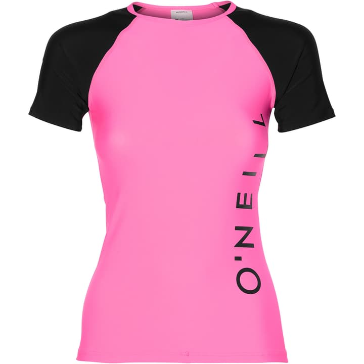 PW SPORTS LOGO SKIN UVP-Shirt pour femme O'Neill 463110200329 Couleur magenta Taille S Photo no. 1
