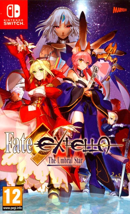 Switch - Fate EXTELLA - The Umbral Star 785300128218 N. figura 1