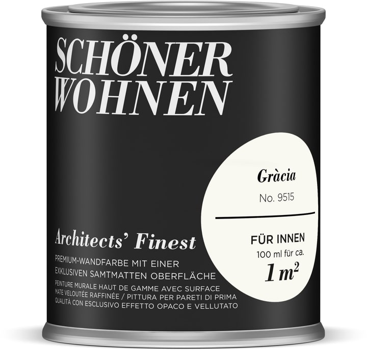 Architects' Finest Gràcia 100 ml Schöner Wohnen 660965900000 Couleur Gràcia Contenu 100.0 ml Photo no. 1