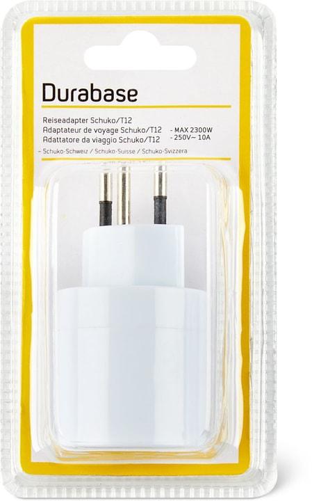 Reiseadapter T12/SCHUKO Reiseadapter Durabase 791042300000 Bild Nr. 1