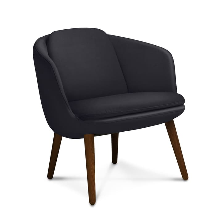 SENNA Sessel 360055697101 Grösse B: 76.0 cm x T: 72.0 cm x H: 76.0 cm Farbe Schwarz Bild Nr. 1