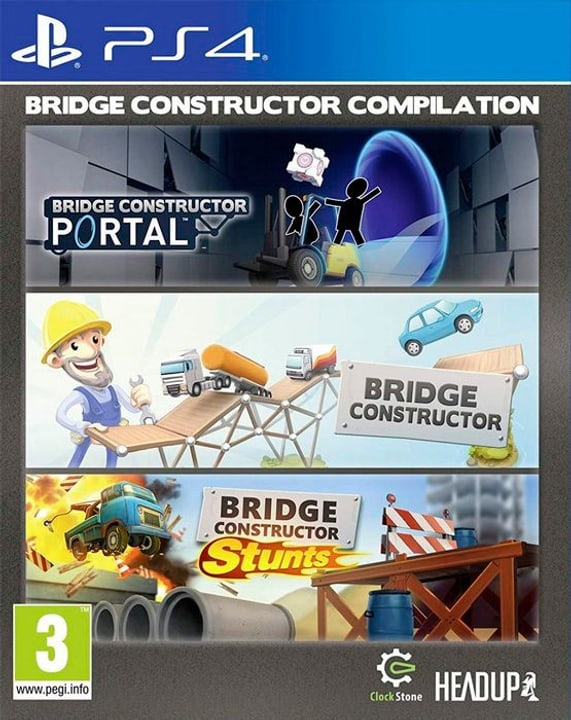 PS4 - Bridge Constructor Compliation (F) Box 785300138573 Photo no. 1