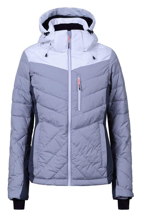 KENDRA Veste de ski pour femme Icepeak 462533104281 Couleur gris claire Taille 42 Photo no. 1