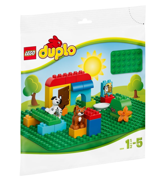 LEGO DUPLO Base verde 2304 747805800000 N. figura 1