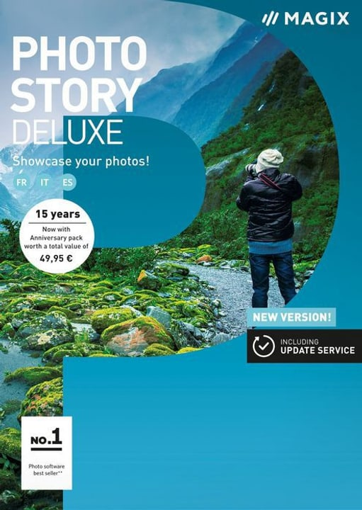 PC - Photostory 2018 Deluxe (F/I) Physique (Box) Magix 785300129438 Photo no. 1