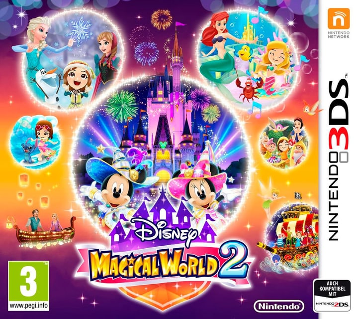 3DS - Disney Magical World 2 Box 785300121384 N. figura 1