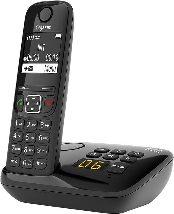 A S690 A schwarz Festnetz Telefon Gigaset 794060700000 Bild Nr. 1