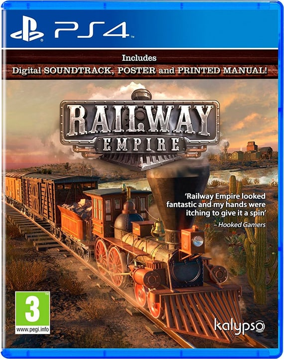 PS4 - Railway Empire - F/I Fisico (Box) 785300131664 N. figura 1