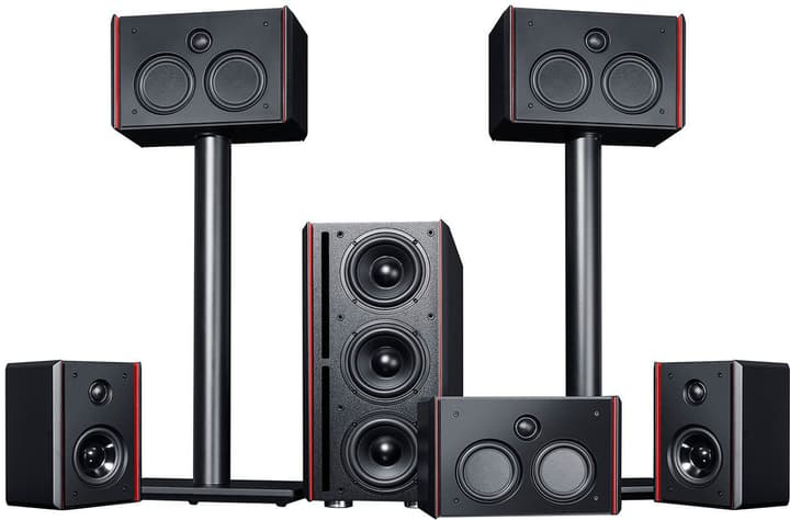 System 4 THX - 5.1 Set - B Altoparlante Home Cinema Teufel 785300137720 N. figura 1