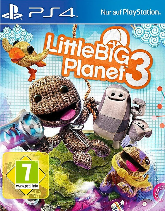 PS4 - Little Big Planet 3 785300129964 Photo no. 1