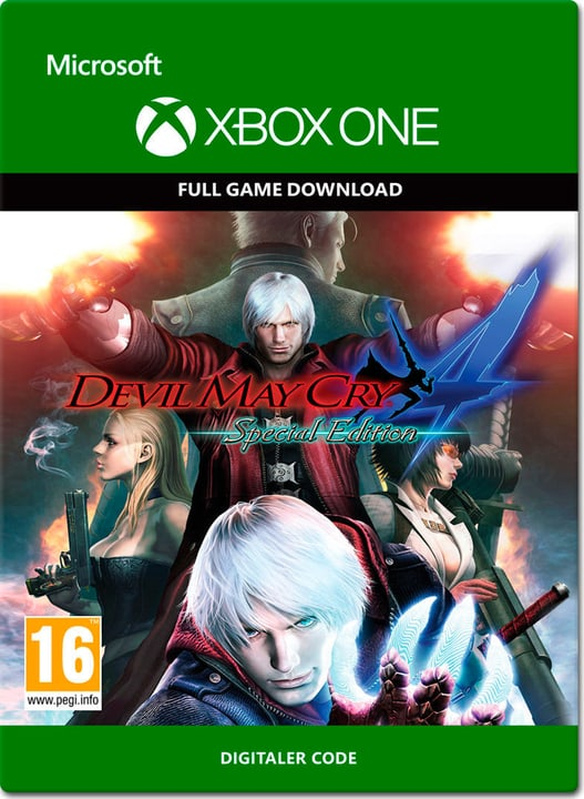 Xbox One - Devil May Cry 4: Special Edition Download (ESD) 785300137386 N. figura 1