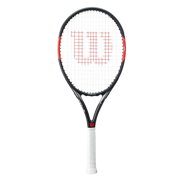 FEDERER TEAM 105 Racket Wilson 491549900320 Dimensione delle impugnature a partire 003 Colore nero N. figura 1