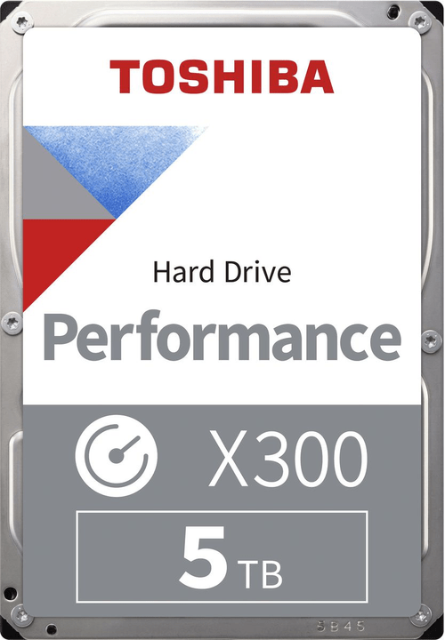 "X300 disco rigido interno High-Performance 5TB 3.5"" SATA Hard disk Interno HDD Toshiba 785300126426 N. figura 1"
