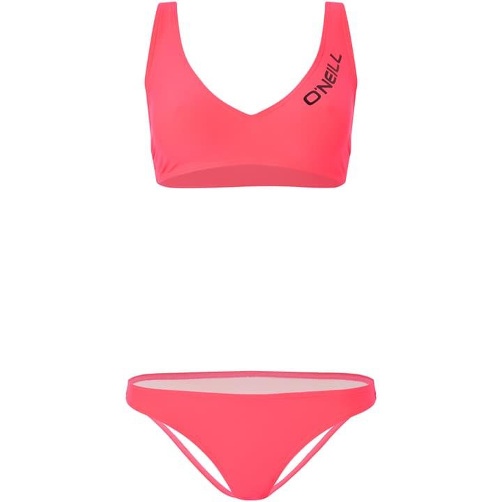 PW PADUA KOPPA LOGO BIKINI Damen-Bikini O'Neill 463146603657 Farbe koralle Grösse 36 Bild-Nr. 1