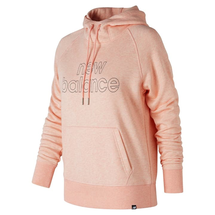 W Essentials Pullover Hoodie Sweat-shirt à capuche pour femme New Balance 462383000356 Couleur aprico Taille S Photo no. 1