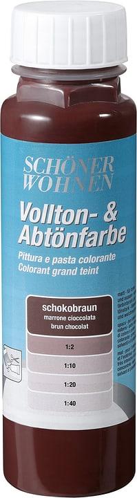 Pittura pien e per digradazione Schöner Wohnen 660900800000 Colore Marrone cioccolato Contenuto 250.0 ml N. figura 1