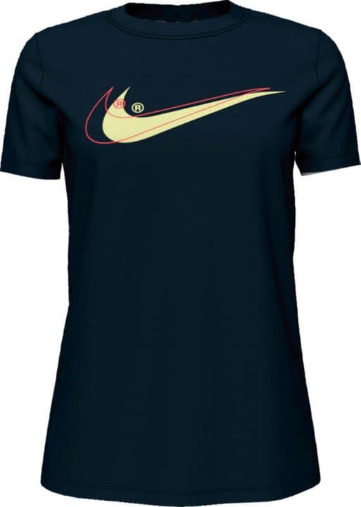 Women NSW Tee Double Swoosh Maglietta da donna Nike 464208400420 Colore nero Taglie M N. figura 1