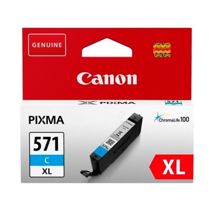 CLI-571XL XL cyan Cartouche d'encre Canon 795844800000 Photo no. 1