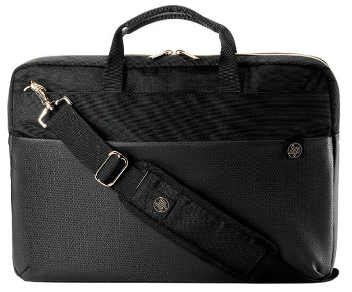 "15.6"" Duotone Gold Briefcase Laptop Case HP 798249900000 N. figura 1"