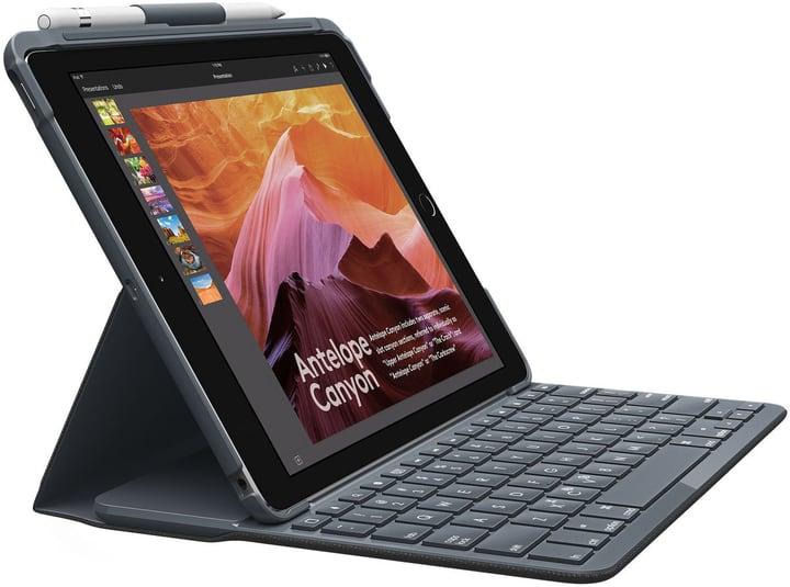 Slim Folio iPad Gen. 5 & 6 Keyboard-Case Logitech 798247800000 Photo no. 1