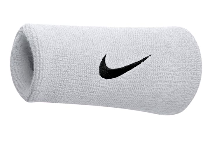 Serre-poignets large (12.7cm)\, unisexe Nike 473202199910 Couleur blanc Taille one size Photo no. 1