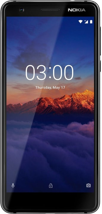 3.1 (2018) schwarz Smartphone Nokia 785300137535 Bild Nr. 1