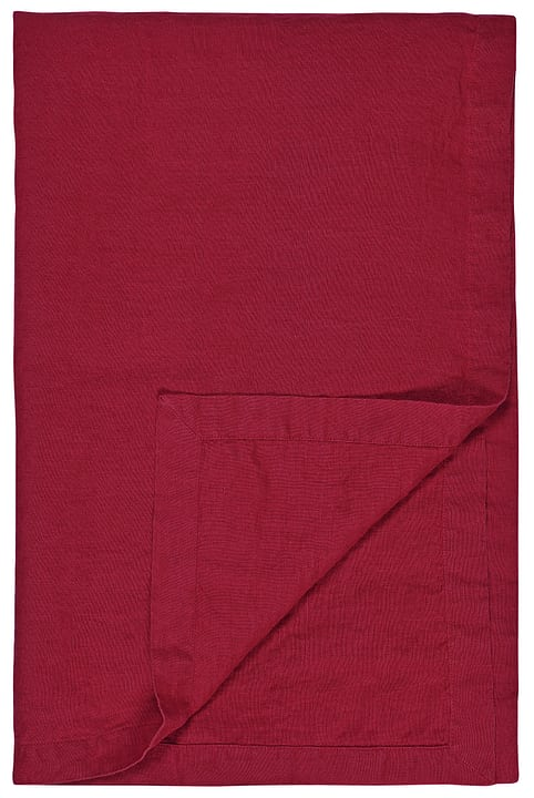 ALISSIA Tischdecke 440264200030 Farbe Rot Grösse B: 140.0 cm Bild Nr. 1