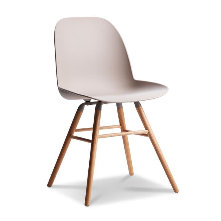 ALBERT Stuhl taupe Stuhl 366027593605 Grösse B: 55.0 cm x T: 49.0 cm x H: 81.5 cm Farbe Taupe Bild Nr. 1