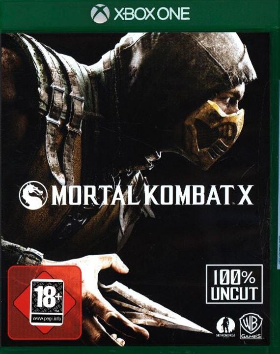 Xbox One - Mortal Kombat X Physisch (Box) 785300122013 Bild Nr. 1