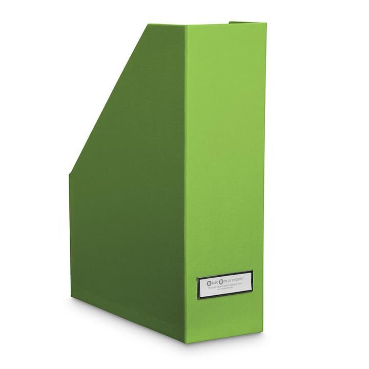 BIGSO CLASSIC Porte-journaux 386060400000 Dimensions L: 25.0 cm x P: 10.0 cm x H: 32.5 cm Couleur Vert Photo no. 1