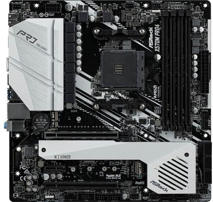 X570M Pro4 Mainboard ASRock 785300150087 Photo no. 1
